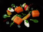 Solway salmon and apples 3 ways from mothers garden