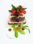 Tuna nicoise poshed up a little