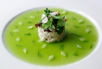 Local Whitehaven crab , Cucumber jelly