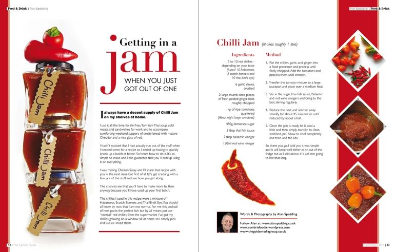 Chilli Jam Recipe v2