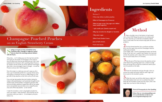 summer peach recipe