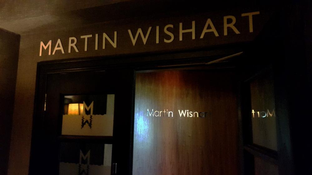 Martin wishart , cameron house , loch lomond.