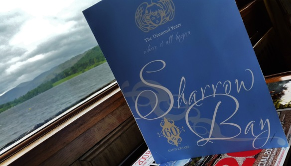 Sharrow Bay hotel , Ulswater , cumbria