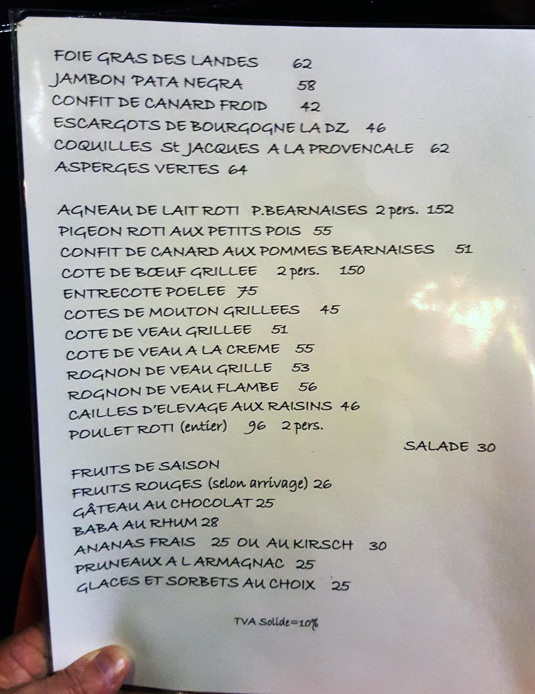 "Top Culinary Theft"" at Chez L`Ami Louis , PARIS – Cumbriafoodie KM74"