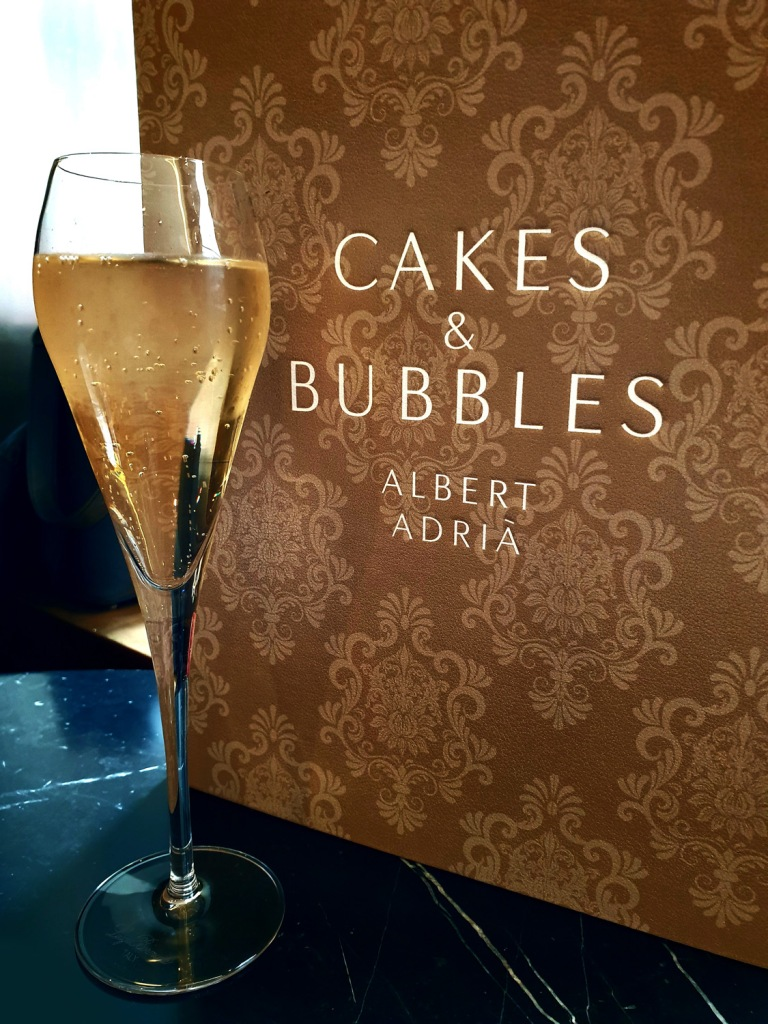 cakes and bubbles , Albert Adria